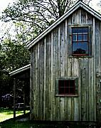 Shed Photo Posters - Historic Shed Poster by Mg Rhoades