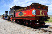 Destiny Prints - Historic Train - Promontory Point National Historic Park Print by Gary Whitton