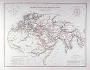 Victorian Style Digital Art - Historical Map Of The Known World by Fototeca Storica Nazionale