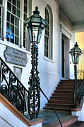 Entryway Art - Historical Society Entrance by Steven Ainsworth