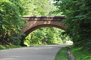Williamsburg Prints - Historical Stone Arched Bridge Print by John Black
