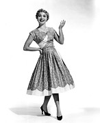 Full Skirt Acrylic Prints - Hit The Deck, Jane Powell, 1954 Acrylic Print by Everett