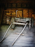 Wagon Wheels Photo Posters - Hitch Your Wagon Poster by Colleen Kammerer