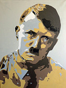 Hitler Paintings - Hitler by Jan Wiersma