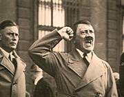 Speaker Photo Acrylic Prints - Hitler the Orator Acrylic Print by Al Bourassa