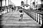 Hitting Prints - Hitting the Boardwalk Print by John Rizzuto