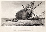 Beagle Photos - Hms Beagle Ship Laid Up Darwins Voyage by Paul D Stewart