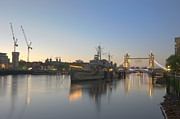 Russell Pheasey - HMS Belfast at Dawn