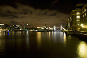 Russell Pheasey - HMS Belfast at night