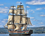 Duluth Art - HMS Bounty by Dale Erickson