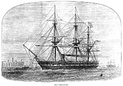 Royal Navy Art - Hms Challenger, 1872 by Granger