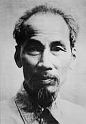 Communists Prints - Ho Chi Minh 1890-1969, Vietnamese Print by Everett