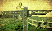 New Zealand Digital Art - Hobbiton Signage by Linde Townsend