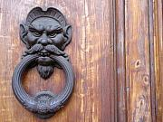Door Knockers And Handles - Hobgoblin Rings by Edan Chapman
