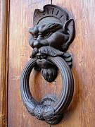 Door Knockers And Handles - Hobgoblin Rings Side by Edan Chapman