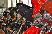 Harley Davidson Road King Motorcycles Photos - Hog Supermarket by Rene Triay