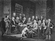 Hogarth Prints - Hogarth: Bambridge Trial Print by Granger