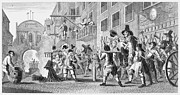 Hogarth Prints - Hogarth: Hudibras Print by Granger