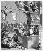 Hogarth Prints - Hogarth: Methodism Print by Granger