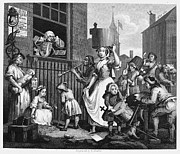 Hogarth Prints - Hogarth: Musician, 1741 Print by Granger