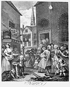 Crowd Scene Art - Hogarth: Noon by Granger