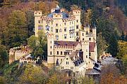 Ludwig Photos - Hohenschwangau Castle by Andre Goncalves