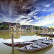 Vietnamese Framed Prints - Hoi An. Vietnam Framed Print by MotHaiBaPhoto Prints