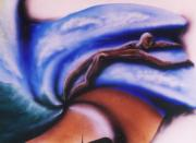 Metaphysical Realism Painting Prints - Holding On Print by Jon David Gemma