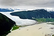 Terminal Photos - Hole-in-the-wall Glacier, Alaska by David Nunuk
