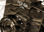Toy Camera Digital Art Posters - Holga Poster by Mike McGlothlen