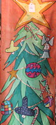 Holiday Tapestries - Textiles - Holiday Banner by Yvonne Feavearyear