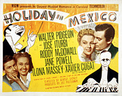 Ev-in Prints - Holiday In Mexico, Roddy Mcdowall, Jane Print by Everett