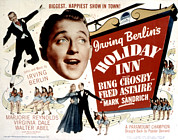Crosby Photos - Holiday Inn, Fred Astaire, Bing Crosby by Everett