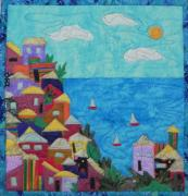 Holiday Tapestries - Textiles - Holiday by Maureen Wartski