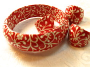 Holiday Jewelry - Holiday Red KnuckleKnockers by Kathleen Othon