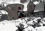 Freeport Prints - Holiday Snow Print by David Bearden