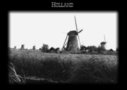 Dutch Landscape Framed Prints - Holland Poster Framed Print by Carol Groenen
