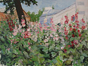 Olga Gorbacheva - Hollyhocks