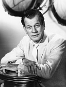 1960s Portraits Framed Prints - Hollywood And The Stars, Joseph Cotten Framed Print by Everett