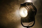 Vintage Lamp Photos - Hollywood by Olivier Le Queinec