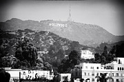 California Landscape Art Posters - Hollywood Sign Poster by John Rizzuto