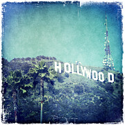 Hollywood Sign Print by Nina Prommer
