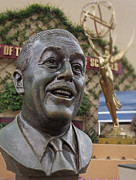 Walt Disney World Prints - Hollywood Studios - Walt Disney Bust Print by AK Photography