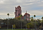 Wdw Framed Prints - Hollywood Studios Tower of Terror Framed Print by Carol  Bradley - Double B Photography