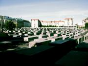 Berlin Germany Prints - Holocaust Memorial Print by Ariane Moshayedi