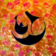 Ali Painting Originals - Holy Five Hassan by Jalal Gilani