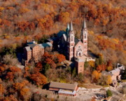 Bill Lang Prints - Holy Hill Fall Print by Bill Lang