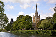 Spire Photo Posters - Holy Trinity Church Poster by Jane Rix