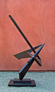 Outdoor Metal Sculpture Art - Homage To Dizzy Gillespie by John Neumann