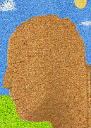 Carpet Mixed Media Posters - Homage to Seurat in Carpet Poster by Andy  Mercer